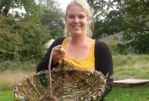 Jenny made a basket!